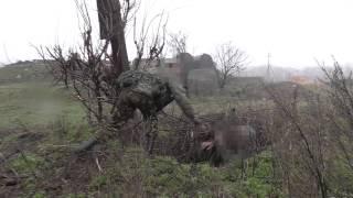 Батальон ХАН. Тактическая подготовка. ДНР.