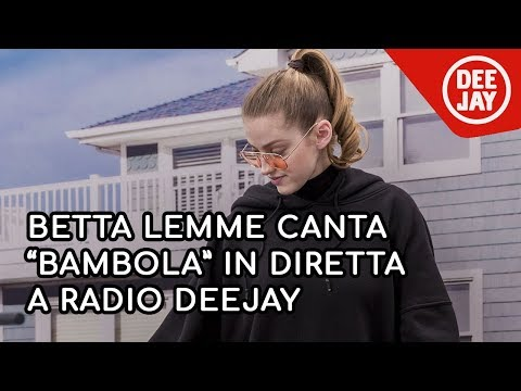 Betta Lemme canta