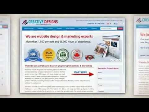 Ottawa Web Design - Creative Designs Ottawa
