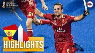 Spain v France | Odisha Men's Hockey World Cup Bhubaneswar 2018 | HIGHLIGHTS