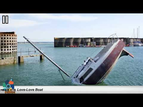 THE LOVE-LOVE BOAT: A Sinking Ship Sculpture | Crazy Boats #11 | Avalon Luxury Pontoons