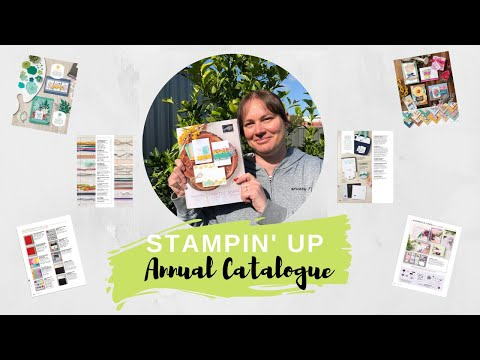 Stampin' Up! 2020-2021 Annual Catalogue Walkthrough
