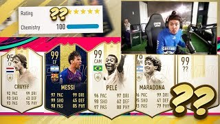 6 PRIMER ICONS!! BEST 192 FUT DRAFT!! FIFA 19