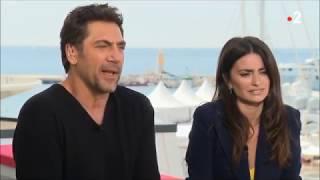 PÉNÉLOPE CRUZ & JAVIER BARDEM - INTERVIEW ANNE-SOPHIE LAPIX - EVERYBODY KNOWS - 08 mai 2018