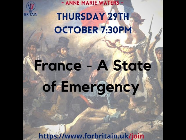 France - A State of Emergency