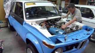 Mise en route moteur Pipo sur BMW 2002 Touring Gr2