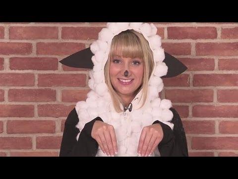 Adult sheep halloween costume