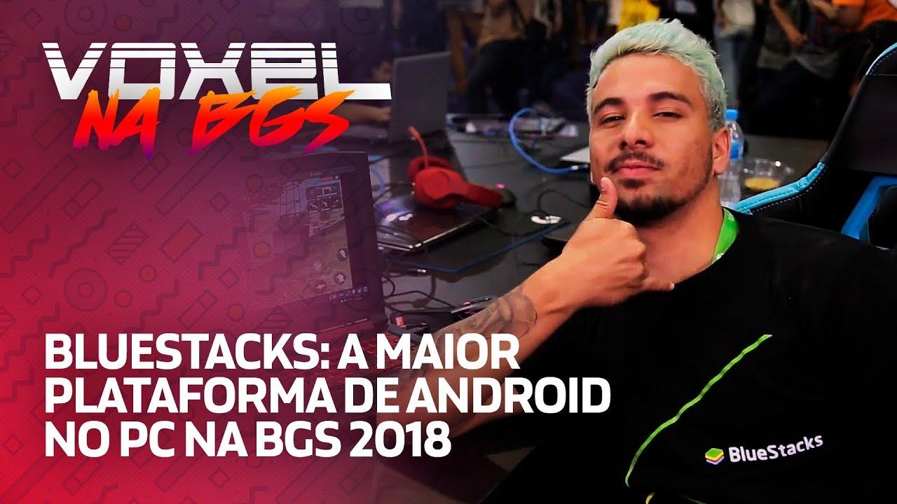 BlueStacks faz ação com cosplayers e Piuzinho na BGS 2018