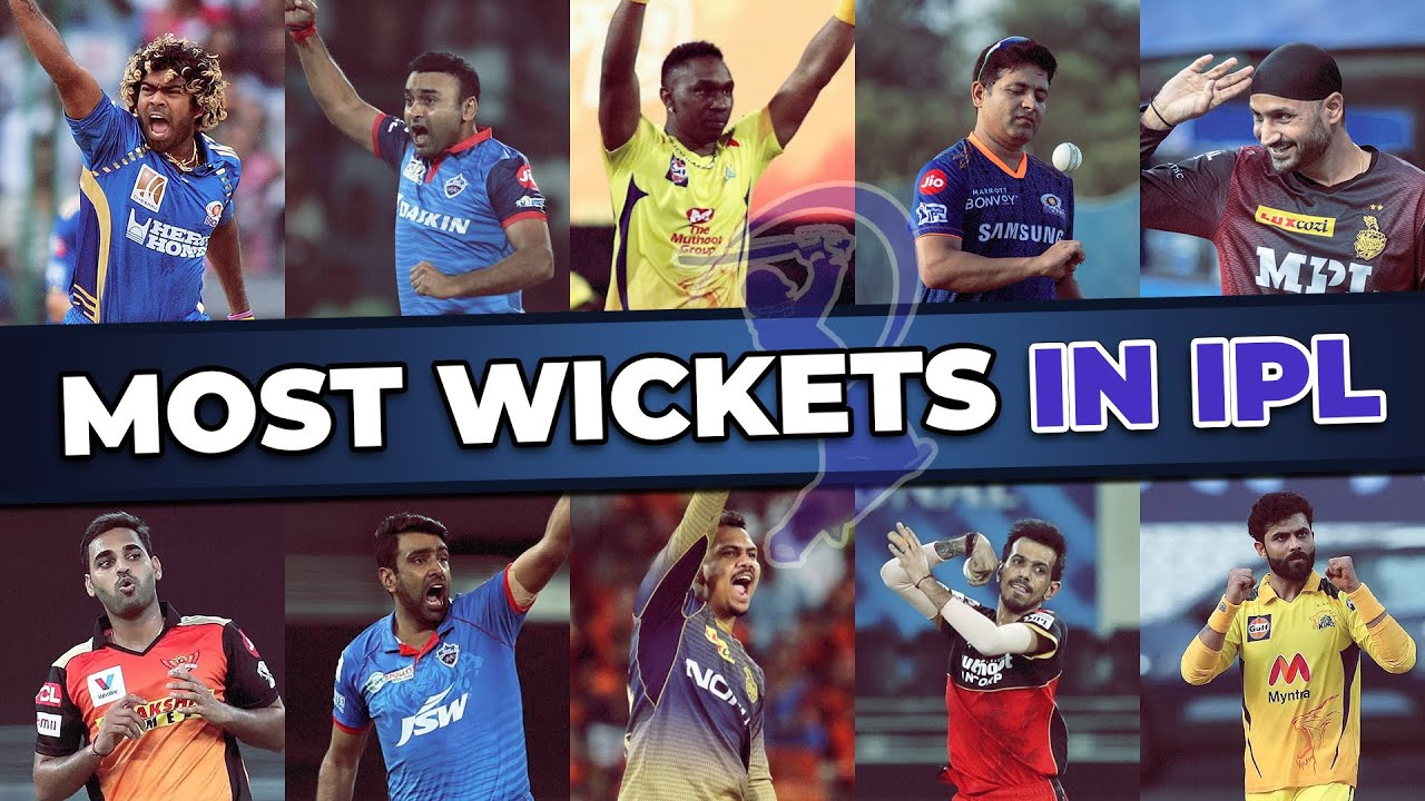 Top 10 Most Wickets in IPL History | Highest Wicket Taker in IPL History | IPL Bowling Records