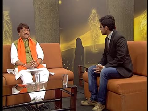 DD News-BJP Leader Kailash Vijayvargiya Interview by Aditya Shrivastava-2014