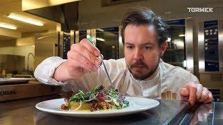 Tormek visit professional Chef Jimmi Eriksson in the Swedish Culinary Team