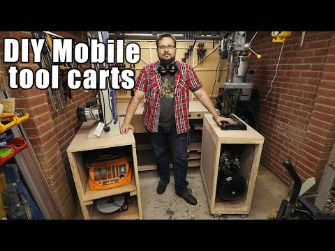 Mobile Tool Carts For Small Workshops