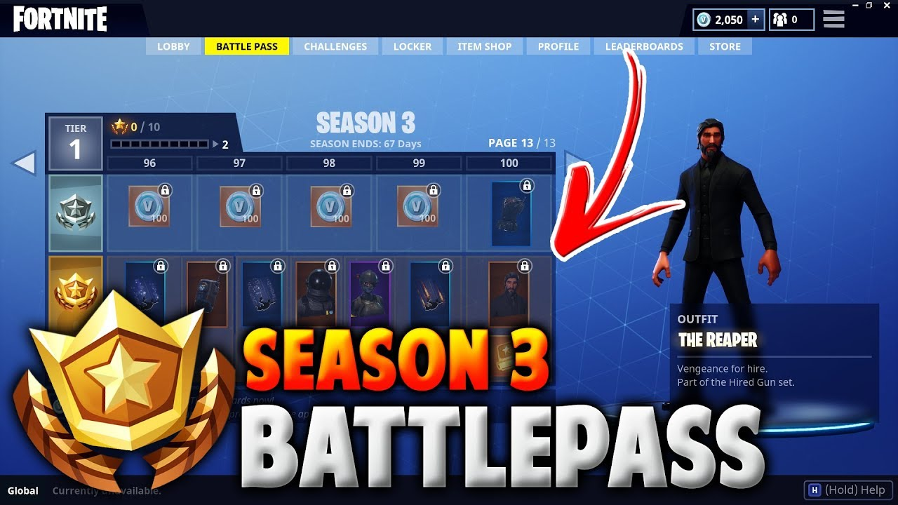 fortnite how to buy battle pass 3