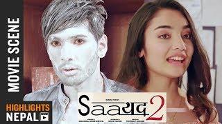 First Impression | New Nepali Movie SAAYAD 2 Scene 2018 | Ft. Sushil Shrestha, Sharon Shrestha