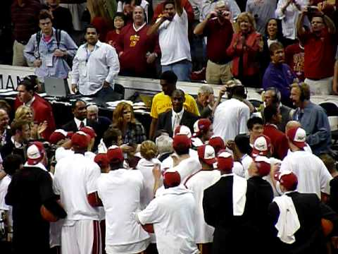 USC Basketball 2009 Pac10 Tournament Champs.