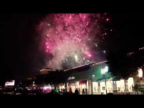St Johns Town Center Holiday Spectacular 2017 Fireworks November 11 2017