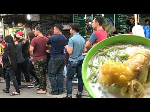 Durian & Cendol : A Bombastic Mix In KL Chow Kit Market !