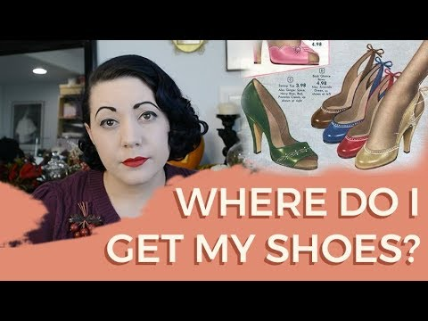 Retro And Vintage Reproduction Shoe Sources And Brands