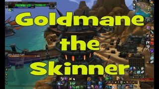 World of Warcraft Easy to get followers (Goldmane the Skinner)