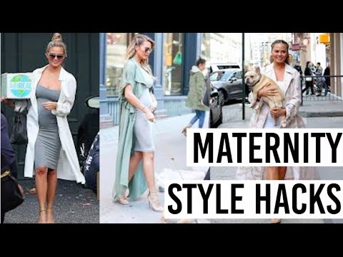 PREGNANCY HACKS | How to avoid maternity clothes!