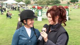 Susan Hutchison induction in to the ShowJumping Hall of Fame 2016