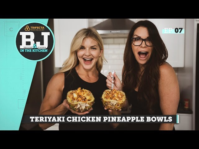 Brooke & Jeanna in the Kitchen - Teriyaki Chicken Pineapple Bowls