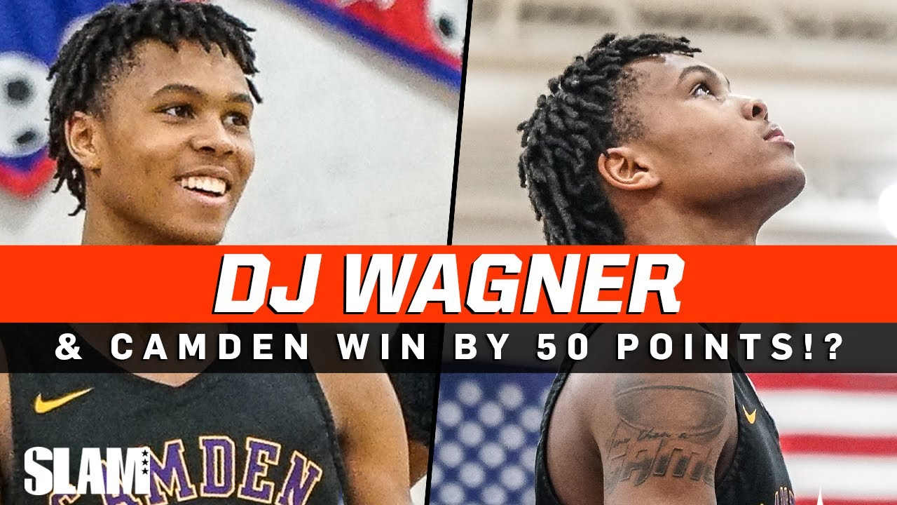 DJ Wagner fuels FIFTY POINT WIN!? Camden catches FIRE ?