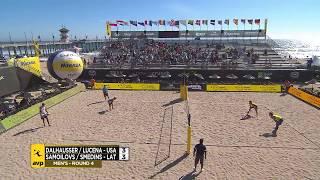 2018 FIVB Huntington Beach Open: Dalhausser/Lucena vs Samoilovs/Smedins