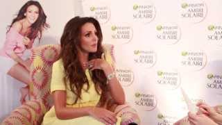 Interview: Michelle Keegan for Garnier Ambre Solaire- ad