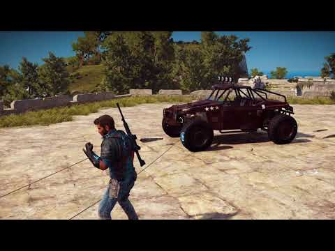 Just Cause 3 como volar en un auto