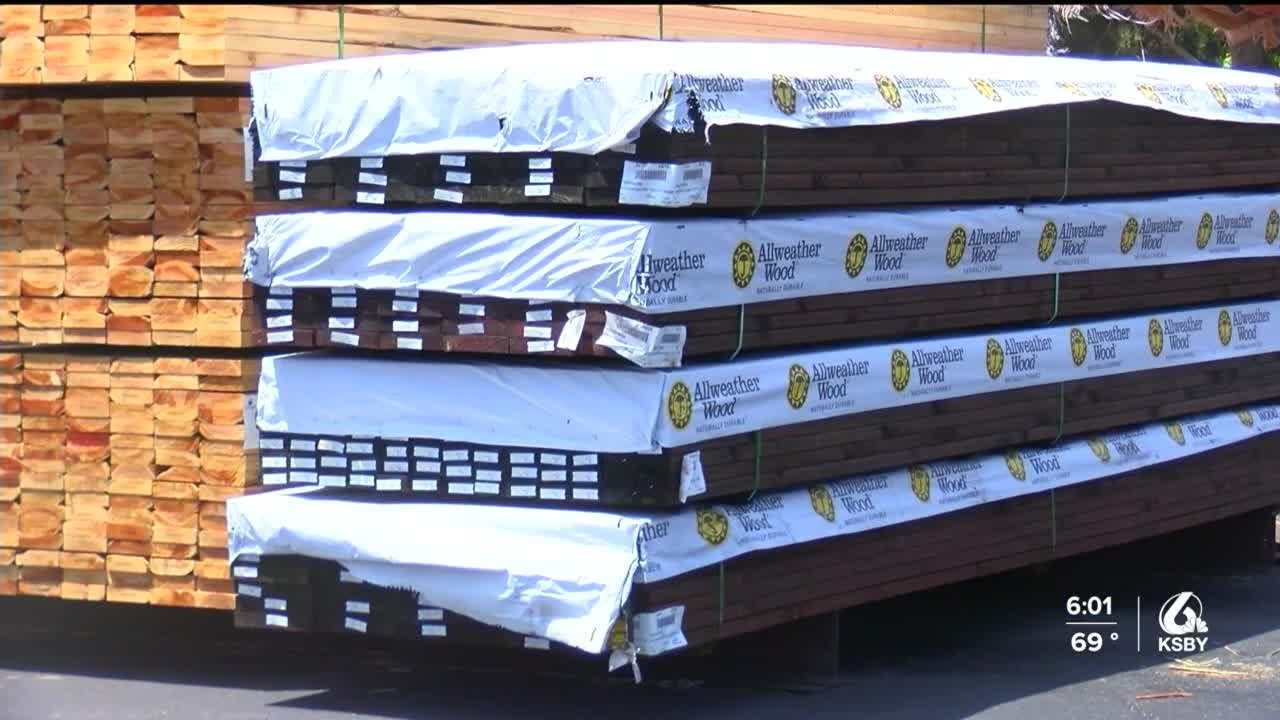 Rising lumber prices affecting new home construction, renovation projects