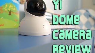 YI Dome Camera Review & Setup 360 Security Camera - Night Vision