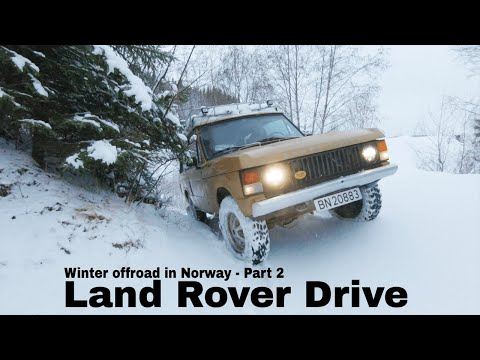 Winter offroad in Norway 2018 - Part 2:2 - Defender 110 + Range Rover Classic + Discovery 4