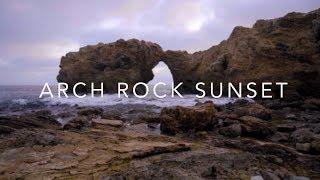Living Landscape   Arch Rock Sunset [4K]