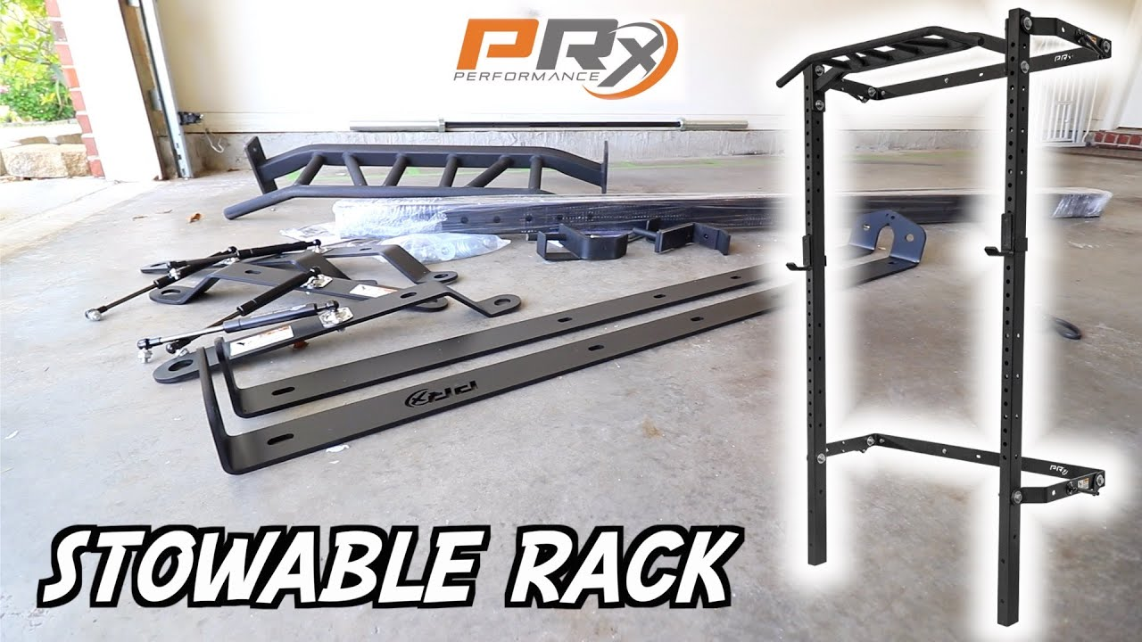 PRX Profile Rack unboxing and installation