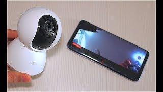 Xiaomi Mijia Smart 720P WiFi IP Camera лучшая для дома и квартиры для наблюдения и записи