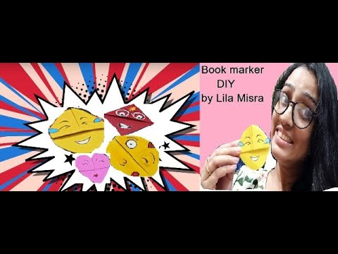DIY Book Marker   Lila Misra