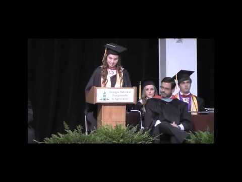 Warner Robins High School Valedictorian & Salutatorian Speeches 2015