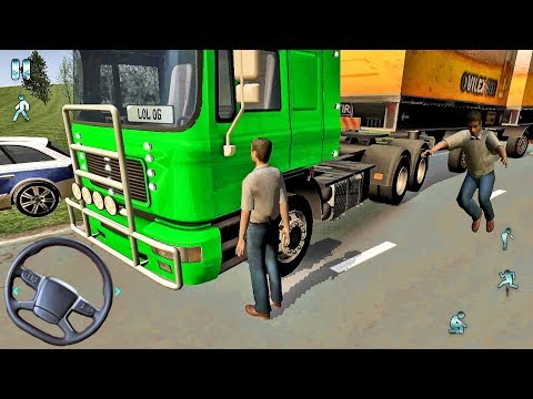 Euro Truck Driver 2018 #37 - Fun Truck Game! - Android gameplay