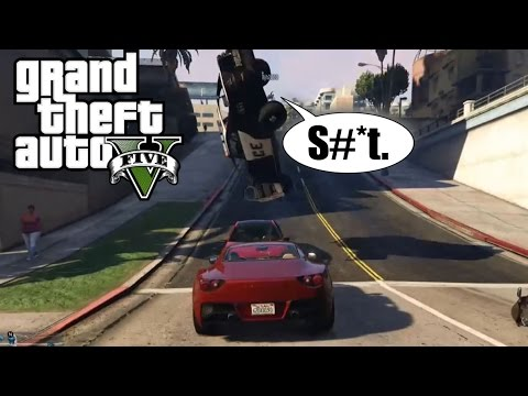 GTA 5  Move Bitch, Get Out The Way!  Gta 5 Funny