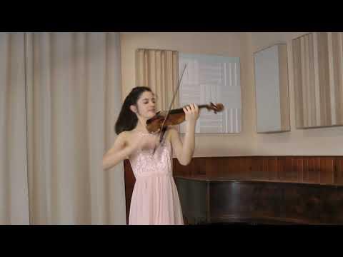 Bach - Fugue from Violin sonata in G minor BWV 1001, María Dueñas