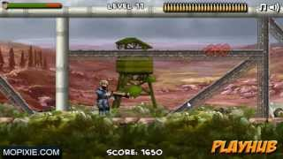 Mechanical Soldier Walkthrough - level 11-12