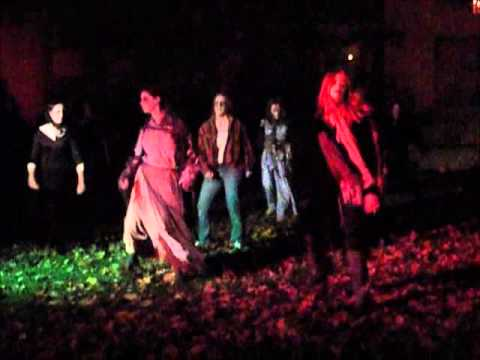 Thriller!: See it in Tully, New York, Halloween Night, 2015