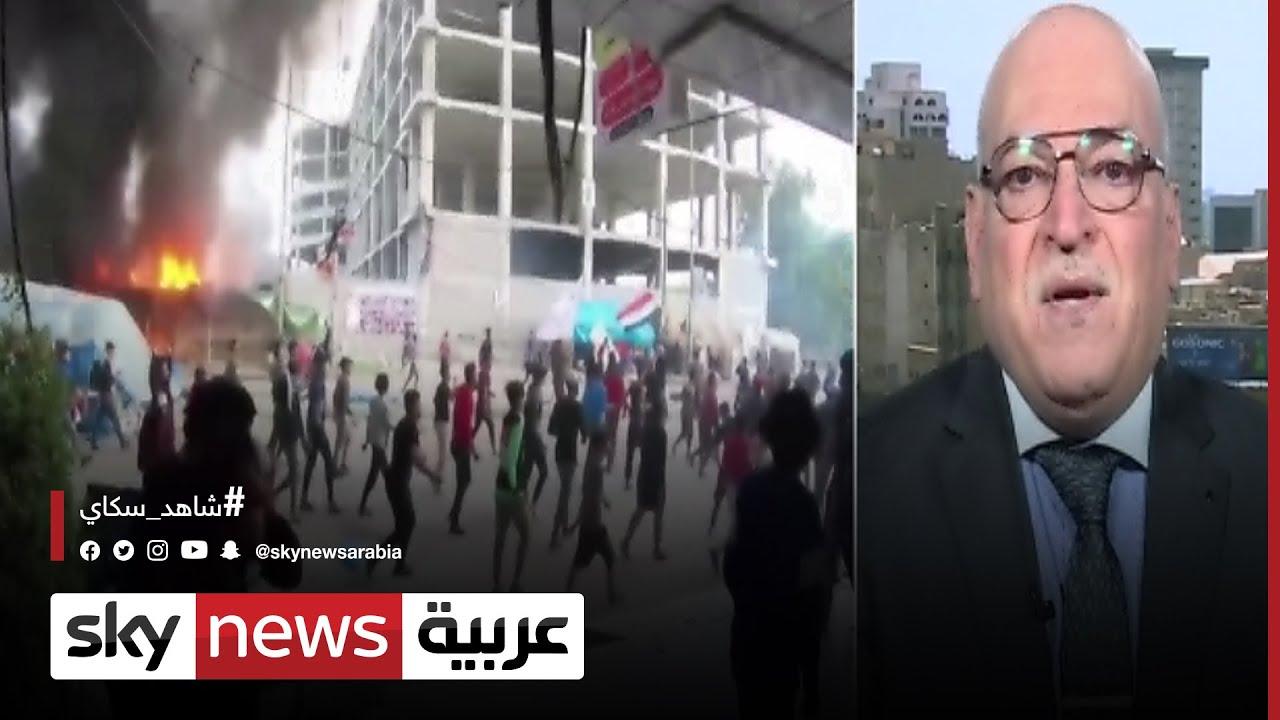 معن الجبوري: هناك إصرار من الحكومة العراقية على كشف هوية قتلة المتظاهرين  - 21:54-2021 / 7 / 16
