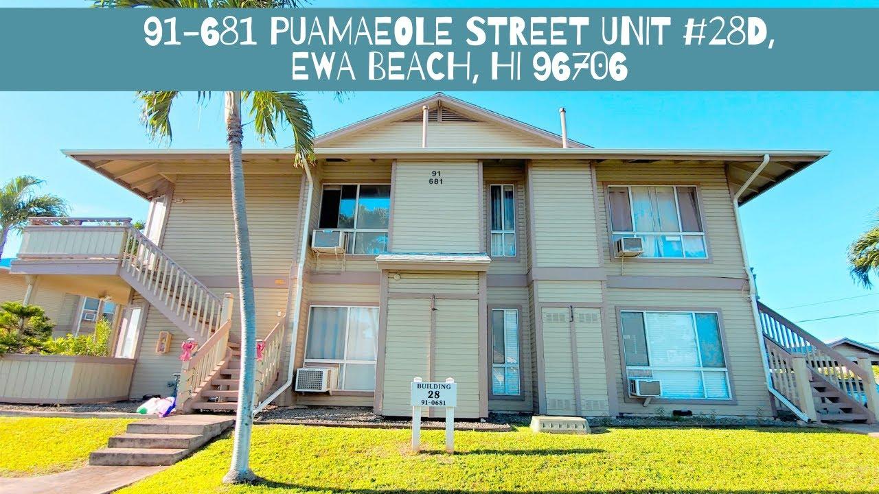 91-681 Puamaeole Street Unit #28D, Ewa Beach, HI 96706