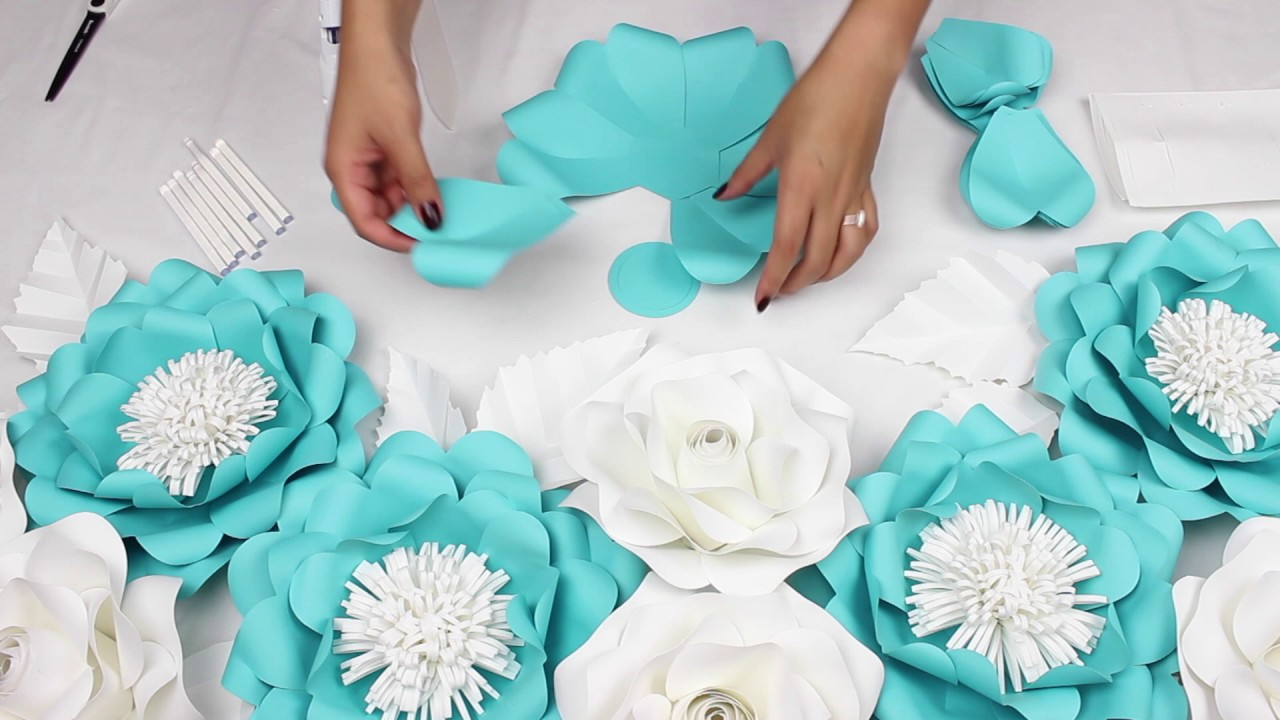 Diy Tiffany Co Blue Inspired Flowers