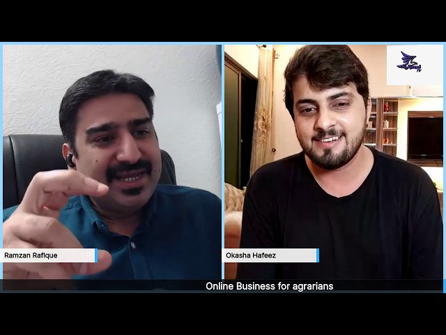 Learn to start online business, with CEO/Founder at Netsomm  Mr. Okasha Hafeez