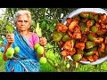 Organic Raw Mango pickle Recipe prepare my Grandma's | Mangoes contiments Traditional Avakaya Pickle