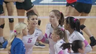 Creighton vs  Seton Hall Volleyball Highlights