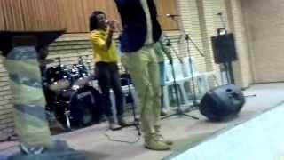 Monde Mgquba sings Igama lenkosi malibongwe